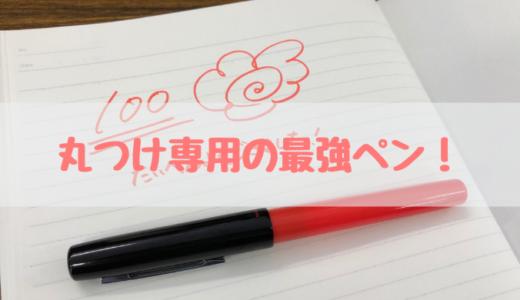 丸つけペンはソフトペンが最強におすすめ【丸つけ専用のペン】